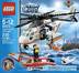 lego coast guard helicopter city flight
