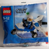 lego city mini figure police plane