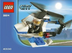 lego city police helicopter mini bagged