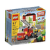 lego bricks fire station spark young