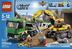 lego city excavator transport heavy work