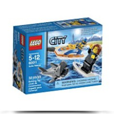 City 60011 Surfer Rescue Toy Building