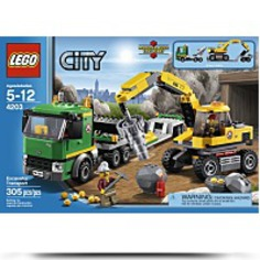 City Excavator Transport 4203