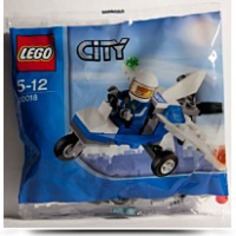 City Mini Figure Set 30018 Police Plane