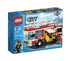 lego city fire truck build extending