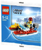lego city fire boat bagged minifiugre