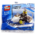 lego city police boat construction bagged