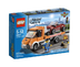 lego city flatbed truck broken down