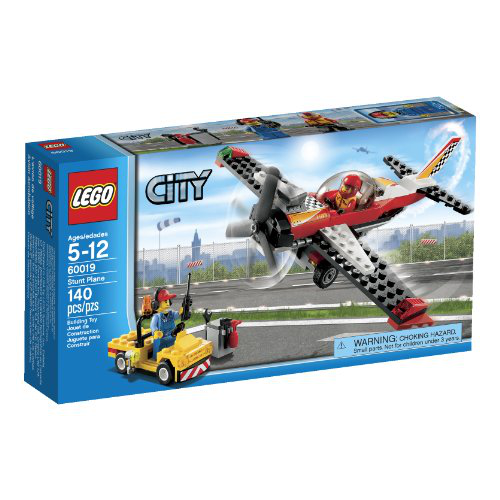 City 60019 Stunt Plane Toy Building Set
