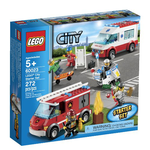 City 60023 Starter Toy Building Set