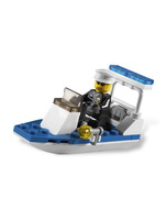 City Police Boat 30PIECE Construction